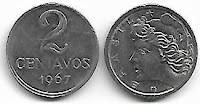 2 centavos, 1967
