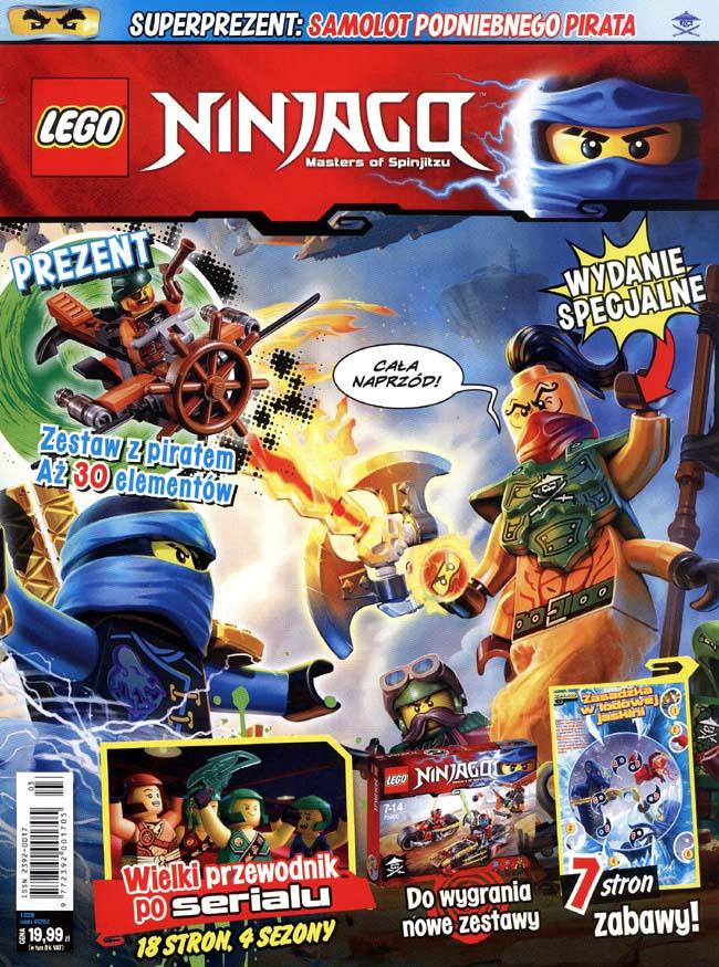 Strona Dla Dzieci Magazyn Lego Ninjago Wyd Specjalne 12016