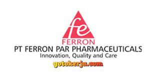 loker PT. Ferron Par Pharmaceuticals Indonesia