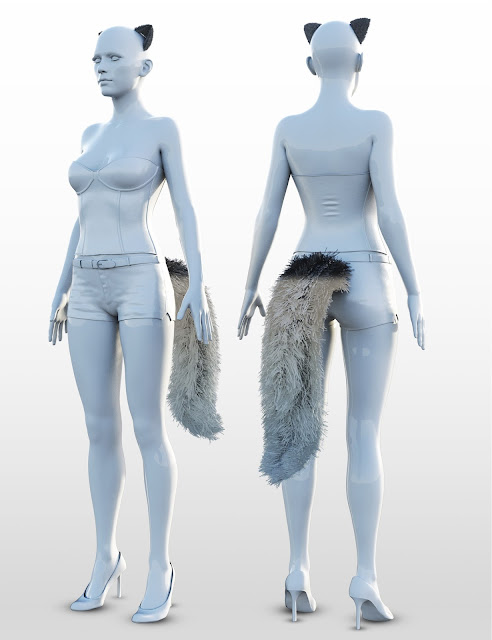 i13 Foxy Outfit for the Genesis 3 Female