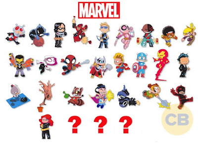 San Diego Comic-Con 2016 Exclusive Skottie Young Marvel Pin Series