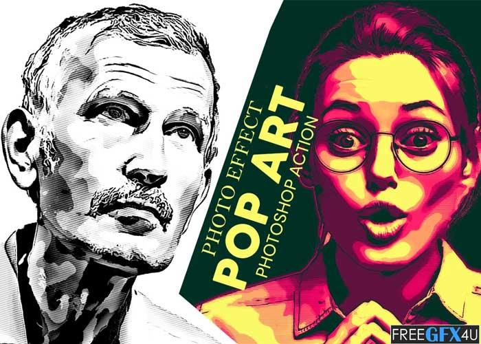 Pop Art Photoshop Action
