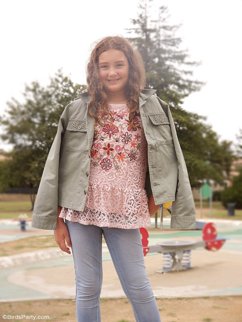 Instagram Worthy First-Day-Of-School Outfits for boys and girls - affordable, comfortable and trendy fashion ideas for back to school! by BirdsParty.com @birdsparty