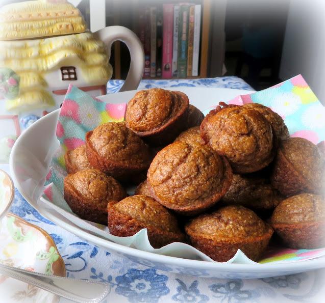 Spiced Pear Pinch Muffins