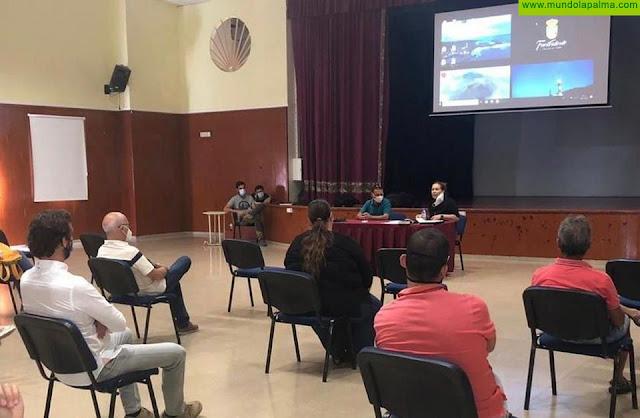 Fuencaliente avanza en su proyecto turístico de la mano de los profesionales del sector en el municipio