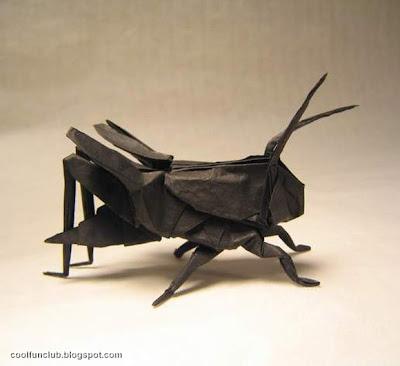 Salta montes Papiroflexia u origami.