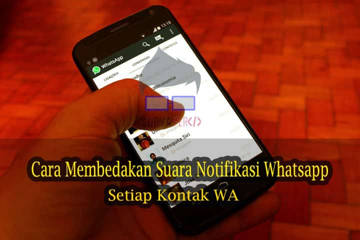 membedakan notifikasi whatsapp