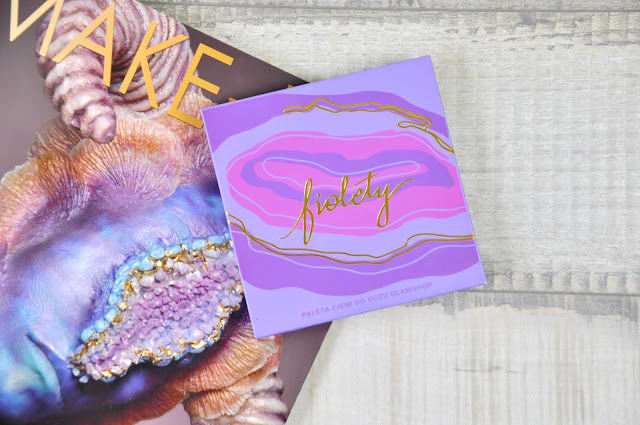 paletka cieni glamshop fiolety