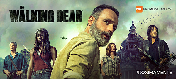 FOX Premium difunde inédito arte de la novena temporada de The Walking Dead