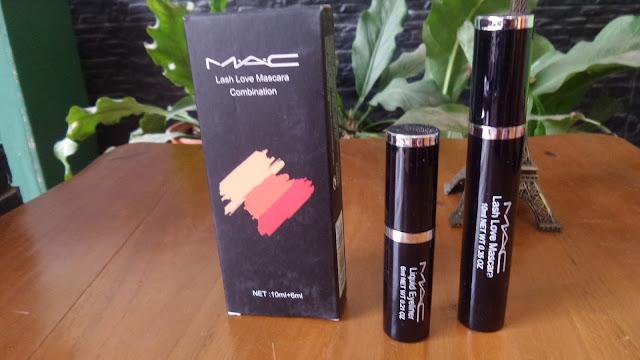 Paket MAC EXCLUSIVE isi EYELINER & MASCARA