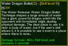 naruto castle defense 6.0 Water Dragon Bullet Technique detail