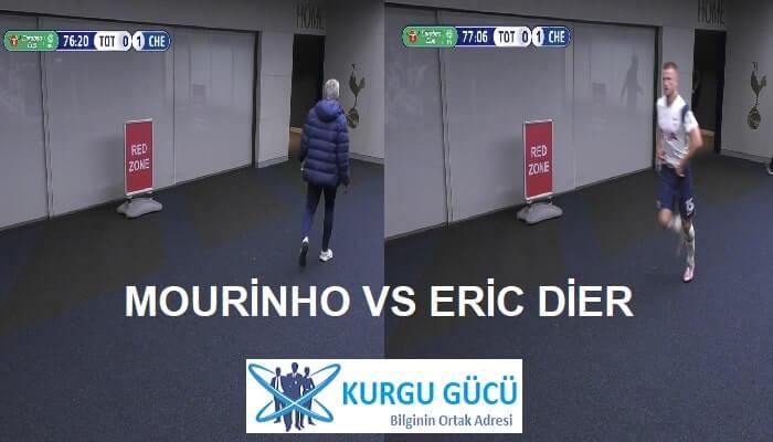 Mourinho, İhtiyaç Molası İçin Tuvalete Giden Eric Dier'i Koşarak Çağırdı!