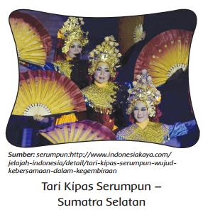 Tari Kipas Serumpun – Sumatra Selatan www.simplenews.me