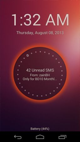 Ubuntu Touch Lockscreen for Android Smartphones