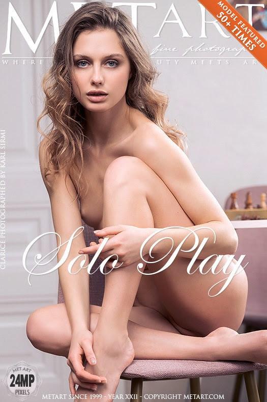 [Met-Art] Clarice - Solo Play - idols