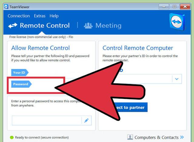 طريقة التحكم في حاسوبك عن طريق هاتف الايفون بواسطة التايم فيور