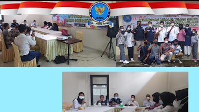 BNNK Lamsel Gelar Kegiatan Dialog Remaja Teman Sebaya Anti Narkoba (Pertemuan ke-1)