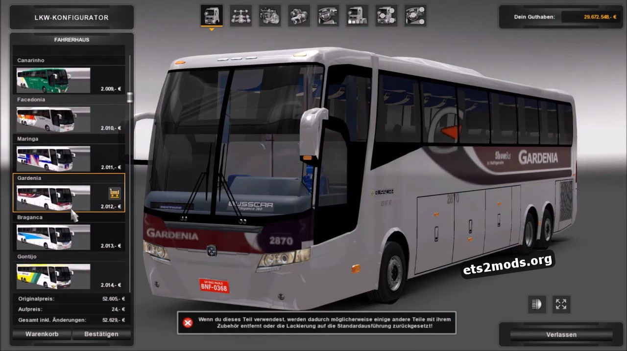 Bus - Elegance 360 1,25 patch
