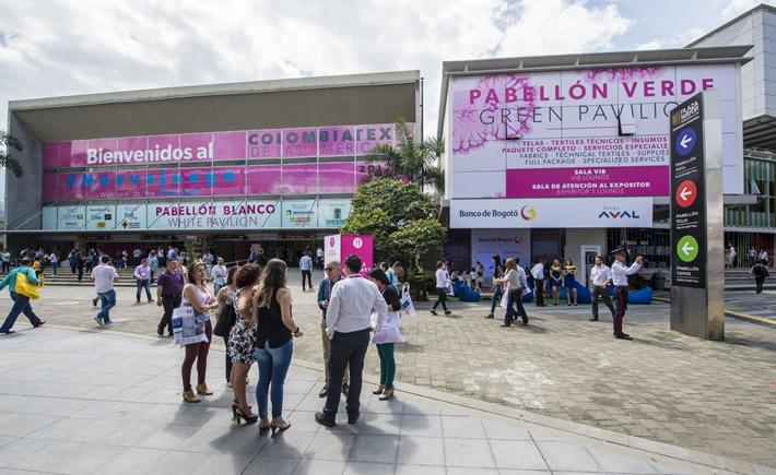 Esta noche de lunes, Silvia Ortiz, enviada especial a Medellín Colombia, informará de los detalles de la feria de textil y de la confección denominada: Colombiatex de las Américas 2018, misma que iniciará este martes su edición número 30. (Foto: Inexmoda)