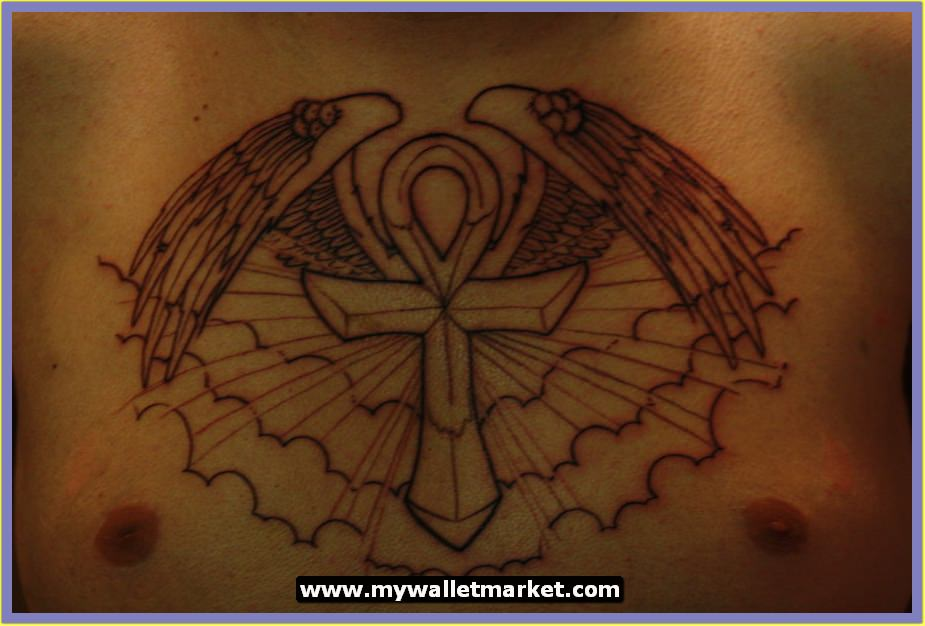 Woman Ankh Tattoo Designs: Awesome Tattoos Designs Ideas For Men And Women: Ankh