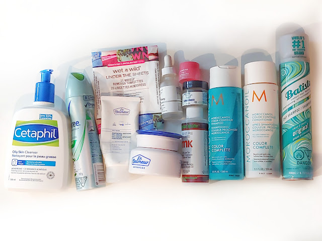 Empties from the last year