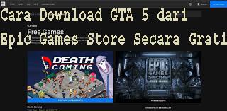 Cara Download GTA 5 dari Epic Games Store Secara Gratis 1