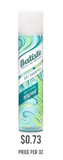 Batiste Dry Shampoo, Original Fragrance
