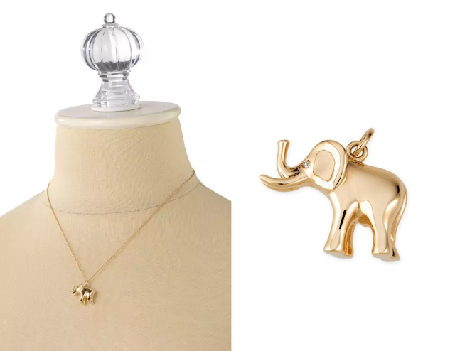 Stella & Dot Elephant Charm as seen on Cameron Diaz
