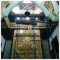 ornamen mihrab pintu ka;bah