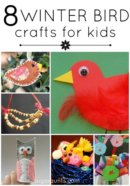 winter bird activities and crafts