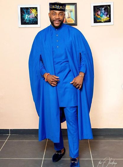 BBNaija2019: Check Out Ebuka's Lovely Outfit for the First Eviction Night