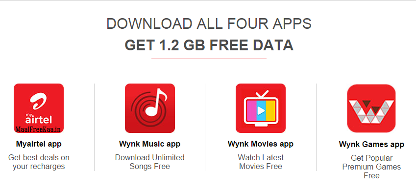Airtel 1 2 GB Internet DATA Free Giveaway - Freebie Giveaway Contest