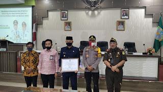 Walikota Jambi Syarif Fasha Hadiri Serta Menandatangani Zona Menuju Intregritas WBK dan WBB