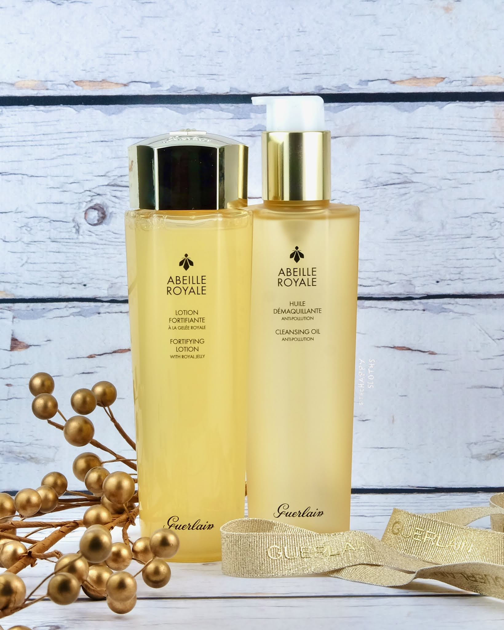 Guerlain | Abeille Royale Cleansing Oil & Fortifying Lotion: Review