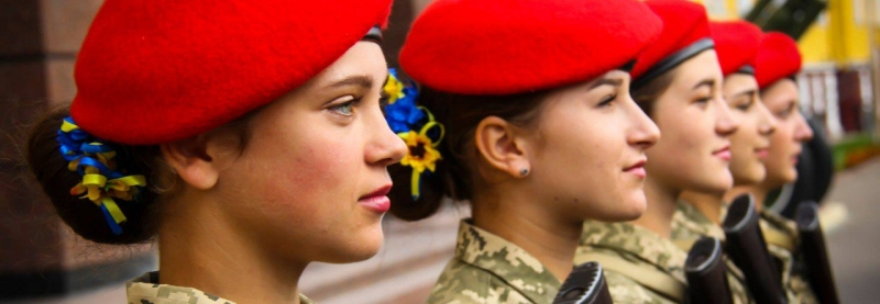 ВСП готуєжінок-військовослужбовців для охорони VIP-осіб