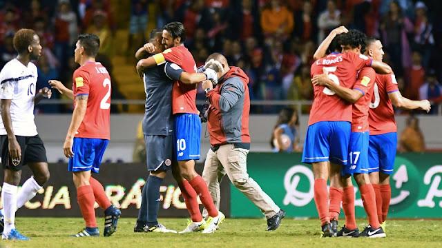 Costa Rica 2-1 Trinidad y Tobago Eliminatorias Concacaf Rusia 2018