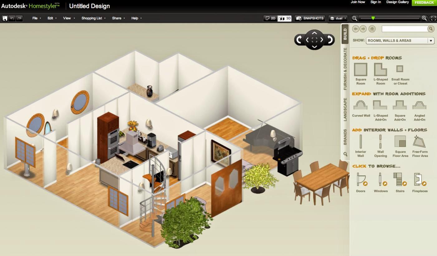 Software Aplikasi Desain Rumah 3D Untuk PC Terkini