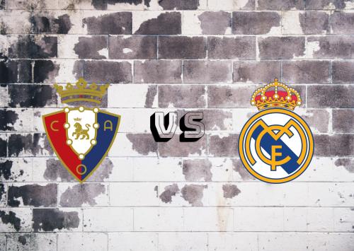 Osasuna vs Real Madrid  Resumen y Partido Completo