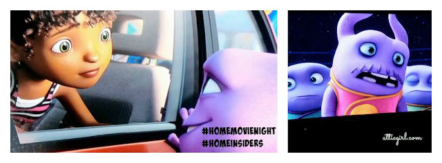 Dreamworks Home Family Movie Night