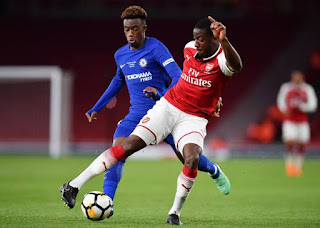 Arsenal rising star wants Super Eagles call up after opting to play for Nigeria