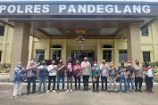 Pererat Sinergitas dengan Pers, Polres Pandeglang Undang Awak Media Bersilaturahmi