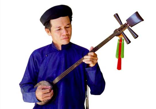 Traditional Instruments: Dan Tam Three-string Lute