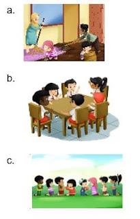 Soal Tematik Kelas 2 Tema 4 Subtema 3