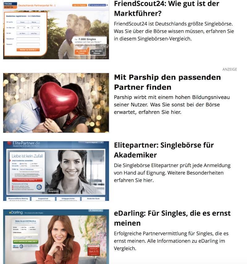 Weibchen Dating-Website