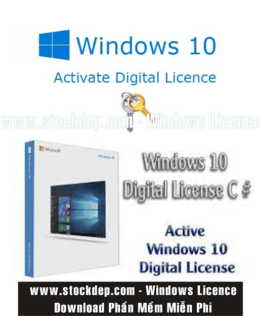 Active Windows 10 Bản Quyền Kỹ Thuật Số Vĩnh Viễn – Windows 10 Active Digital Licence 2021 miễn phí