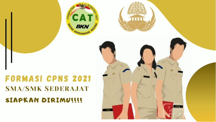 TELAH Diumumkan! Berikut Syarat Terbaru Pendaftaran CPNS 2021 Lulusan SMA/SMK, Semangat Ya Semoga Kamu Lolos!