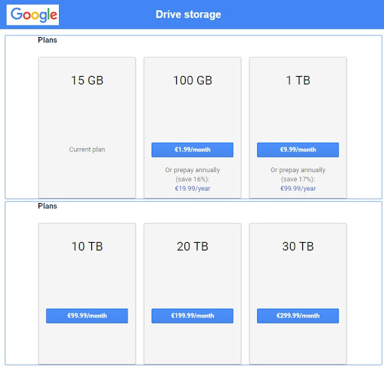 Internet's Best Secrets: Google Drive gets price cuts for