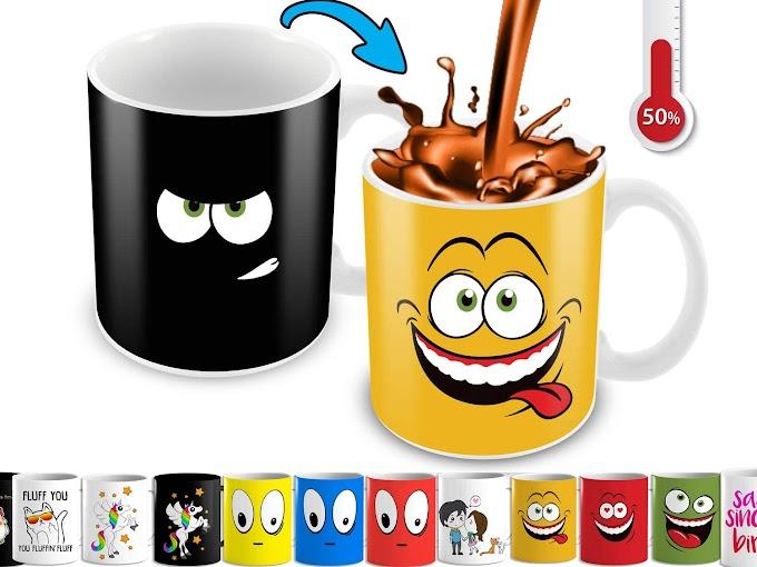 5 Tazas de Cafe decoradas