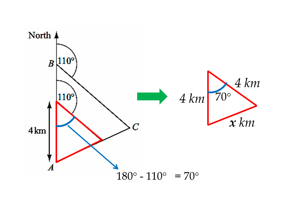 Similar Triangles and Bearings
