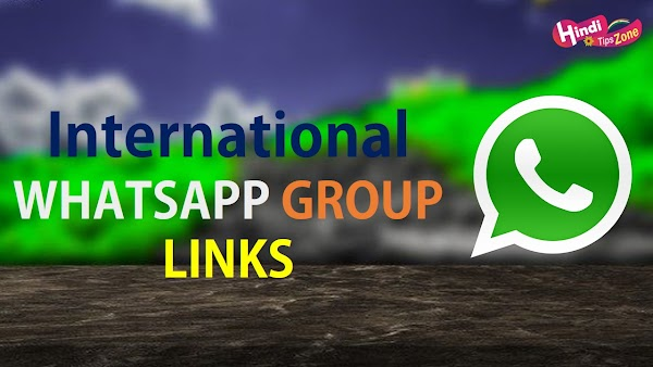 International friends WhatsApp group links {Latest group links 2019}